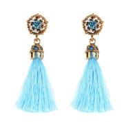 Fashion Earrings Jewellery ,Vintage Style Rhinestones Crystal Tassel Dangle Stud