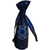 Arcadia Home Design Inc. Silk Star of David Wine Bag