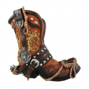 Cowboy Boot Wine Bottle Holder Western Decor by DWK