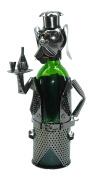 Metal Mr. Peabody Dog Waiter Wine Bottle Holder Character
