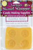Sweet Shoppe Flexible Candy Mould-Double Bells 4 Cavity