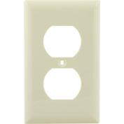 Jasco Duplex Receptacle Wall Plate, Light Almond