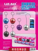 Portable Disco Ball Speaker Purple LI-S8850