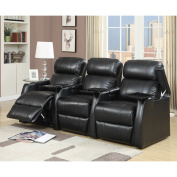 Picket House Furnishings Cecille 3 Piece Home Theatre Power Recliner Set