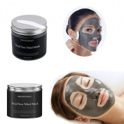 kaiCran 250g Pure Body Naturals Beauty Dead Sea Mud Mask for Facial Treatment