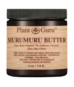 Murumuru Body Butter 120ml 100% Pure Raw Fresh Natural Cold Pressed. Skin Body and Hair Moisturiser, DIY Creams, Balms, Lotions, Soaps.