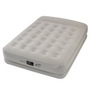 Insta-Bed 50cm . Queen Pillow Rest Airbed with Internal AC Pump