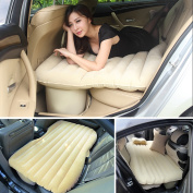 Portable Self-Drive Air Bed Car Back Seat Rest Inflatable Mattress Camping Travel With Air Pump