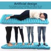 Self Inflating Air Mattress Inflatable Sleeping Pad Outdoor Bed Camping Mat BYE