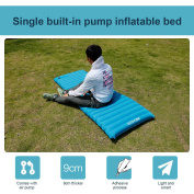 ANCHEER PVC Sleeping Pad Single Fast Inflatable for Camping Hiking with Built in Pump HDPML