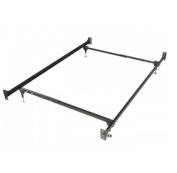 Twin/Full size bolt onheadboard and footboard steel frame