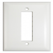 Pass & Seymour Tpd3-W 3 Port Single Gang 1G Network Jack Wall Plate - White