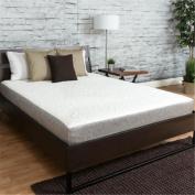 Premier Sleep Products US0850SQ 20cm . Medium Firm Memory Foam Mattress - Size Queen, White