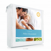 Linenspa Waterproof Zippered Encasement Pillow Protector