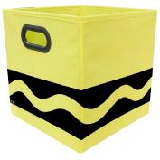 Crayola Black Serpentine Yellow Storage Bin
