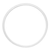 Home Rubber Airtight Pressure Cooker Part Sealing Ring White 30cm Inner Diameter