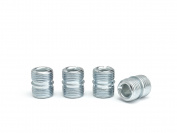 """HSS Pole Connector, Fits 3/4"""" pole diameter 1.2 mm pole thickness, Silver, 4-PACK"""