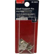 Bulldog Hardware Shelf Support Pin, 3/16, Zinc