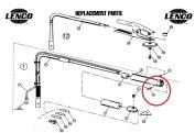 LENCO / NLC INC LC27432 SPRING PIN QP-432