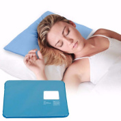 4thenewyou Thermal Pillow - Cooling Pillow a Cool Gel Mat / Pad Helps with Night Sweats ideal for Menopause Cooling Relief