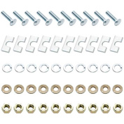 Replacement Nuts/Bolts For Universal 5Th Wheel Bracket Replacement Auto Part, Easy to Instal