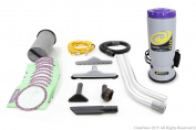 More Powerful Proteam Super QuarterVac Commercial Backpack Vacuum Cleaner