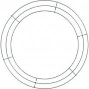 Design It Wire Wreath 50cm , Green