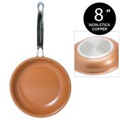 Copper Frying Pan 20cm Non-Stick