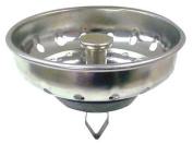 KISSLER & CO 59-2005 Basket Strainer,SS,Kitchen,Chrome G0070239