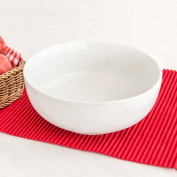 Better Homes and Gardens Round Bowl, White Porcelain