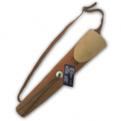 CAROL TRADITIONAL SUEDE LEATHER BACK ARROW QUIVER AQ137BROWN