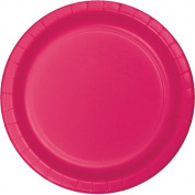 Hoffmaster Group 553277 23cm . Dinner Plate, Hot Magenta - 8 per Case - Case of 12