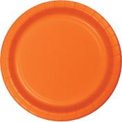 Hoffmaster Group 553282 23cm . Dinner Plate, Orange - 8 per Case - Case of 12