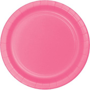 Hoffmaster Group 553042 23cm . Dinner Plate, Candy Pink - 8 per Case - Case of 12