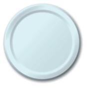Hoffmaster Group 553279 23cm . Dinner Plate, Pastel Blue - 8 per Case - Case of 12