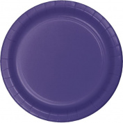 Hoffmaster Group 553268 23cm . Dinner Plate, Purple - 8 per Case - Case of 12