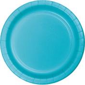 Hoffmaster Group 553552 23cm . Dinner Plates, Bermuda Blue - 8 per Case - Case of 12