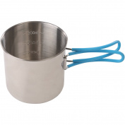 Stansport Stainless Steel Mug, 680ml