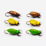 Flyafish Scarab Leaf Beetle Fishing Dry Fly Lure
