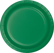 Touch of Colour Lunch Plate, 18cm , Emerald Green, 75 Ct