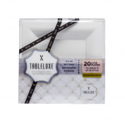 Tableluxe Plates, Square, 20 Ct