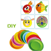 Kids Handmade DIY Toys, Chickwin 3+ Years Old Hand-Made Materials Kids Colour Cut The Painting Toys Graffiti Toys Helps To Cultivate Baby's Ability.