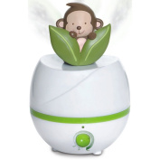 Sucolin Baby Humidifier Cute Monkey Verte Ultrasonic Air Humidifier Filters