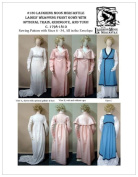 LM130 - 1798-1813 Ladies' Regency Gown, Redingote, & Tunic by Laughing Moon