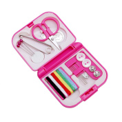 LALANG Sewing Kits Box Needle Wires Scissor Finger Hat Home Tools
