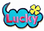 Lucky patch Ideal for adorning your jeans, hats, bags, jackets and shirts.