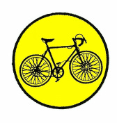 Bicycle BMX Mountain Road Bike( yellow) patch Ideal for adorning your jeans, hats, bags, jackets and shirts.