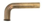 DISPOSAL WASTE ARM 2.5cm - 1.3cm X 18cm BRASS