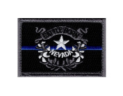 Nevada State Battle Born Thin Blue Line Tactical 5.1cm x 7.6cm Hook Patch