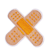 U-Sky Sew or Iron on Patches - Band Aid Patch
